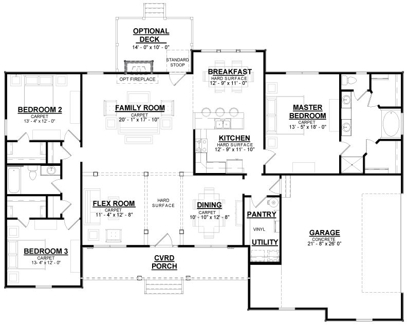 Americas Home Place The Oxford Modern Farmhouse Plan