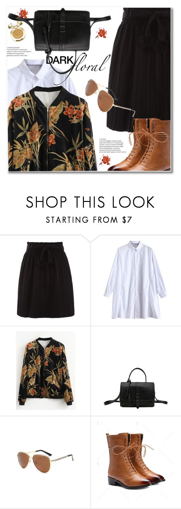 """""""Dark floral"""" by svijetlana ❤ liked on Polyvore featuring Milani, darkfloral and twinkledeals"""