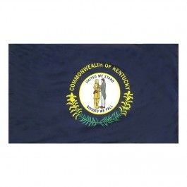 Indoor and Parade Colonial Nyl-Glo Kentucky Flag-Assorted Sizes http://www.pacificcoastflag.com/indoor-and-parade-colonial-nyl-glo-kentucky-flag-1.html