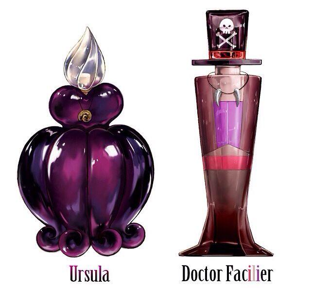Disney Villains Perfume (want the bottles!!)