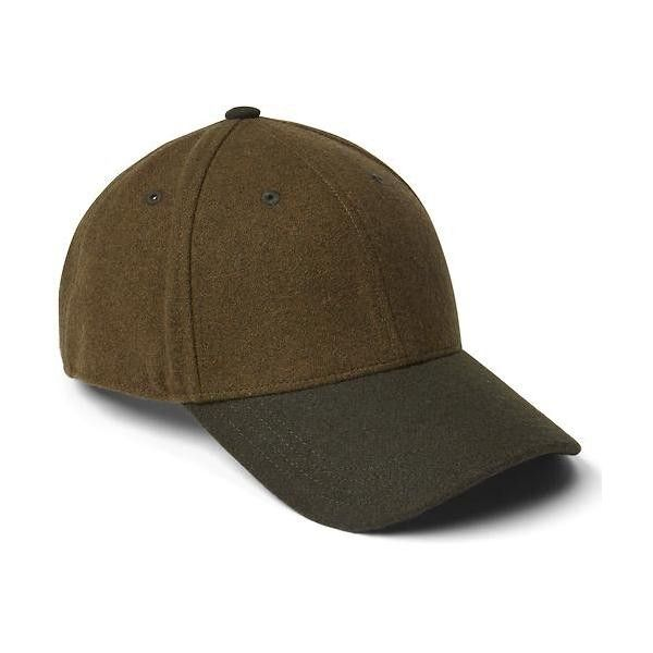 73a0eef28a8 Gap Men Two Tone Wool Baseball Hat ( 19) ❤ liked on Polyvore featuring men s