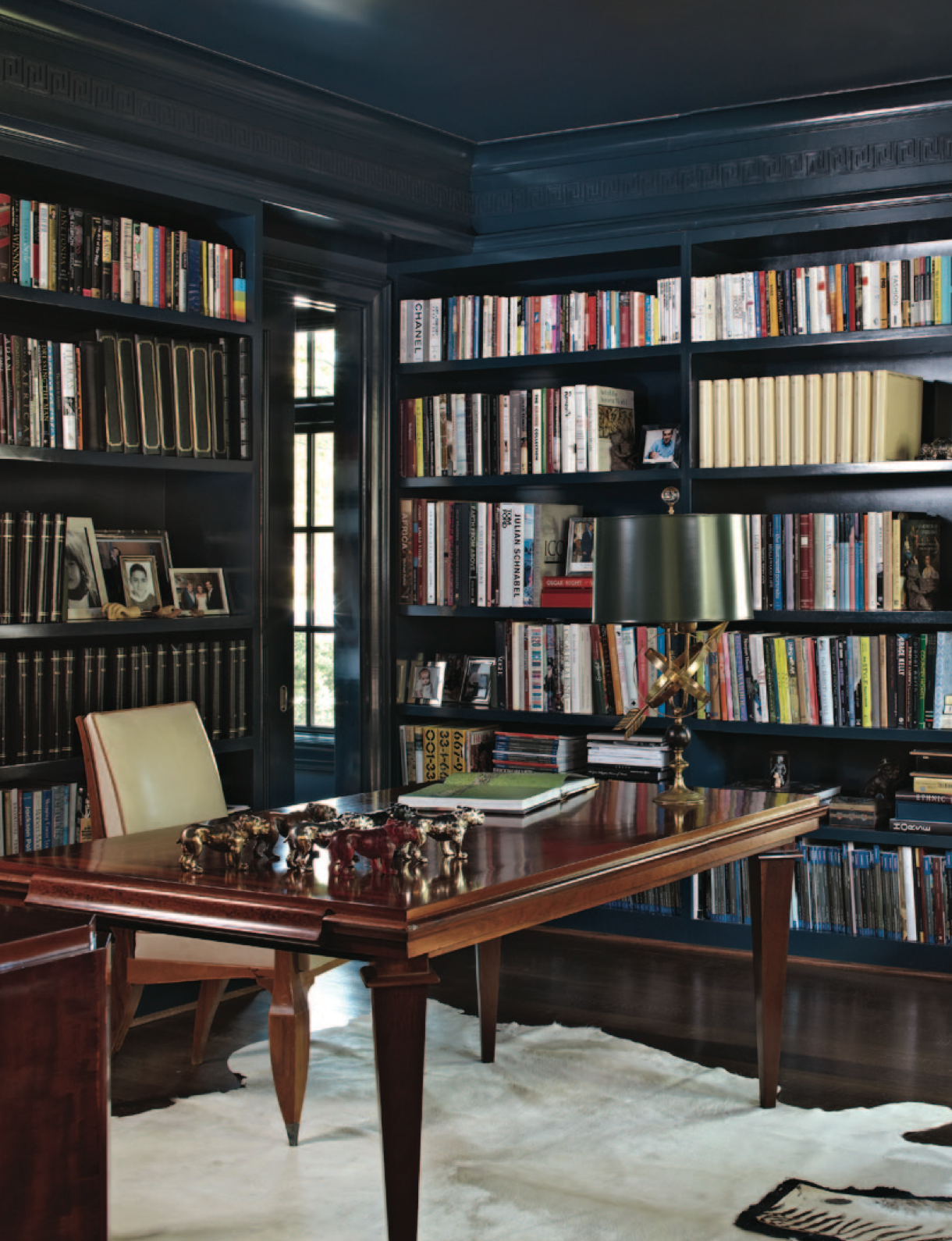 Dark Bookshelves Office Traditional Home Home Library Home Office Design Home Libraries