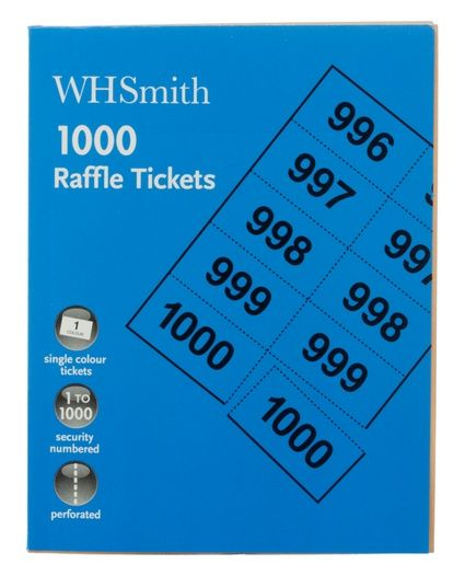 Sharing Whsmith Raffle Tickets Pack Of  From Whsmith