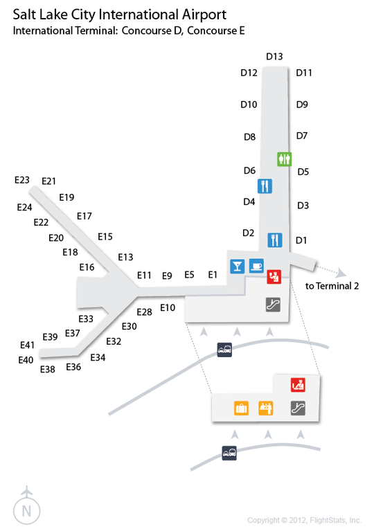 SLC) Salt Lake City International Airport Terminal Map ... Slc Airport Map on jac airport map, utah airport map, bli airport map, scl airport map, sbp airport map, msp airport map, prg airport map, jfk airport map, las vegas airport map, roc airport map, phl airport map, cll airport map, phx airport map, atl airport map, dca airport map, fnt airport map, salt lake international airport map, eug airport map, tlh airport map, dtw airport map,