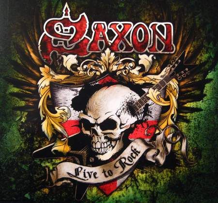 Saxon Live To Rock Music Entertainment Background