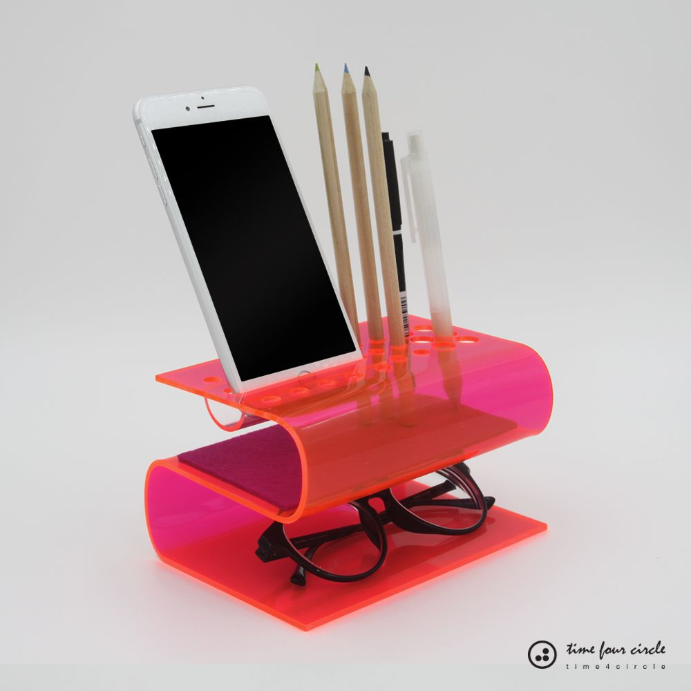 iphone stand cell phone stand desk organizer android docking pen
