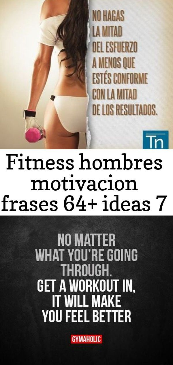 Fitness Hombres Motivacion Frases 64+ Ideas #fitness #TopGymsInDc #GymMotivation Fitness motivacin w...