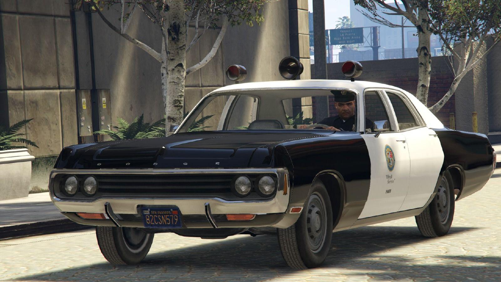 Dodge Polara 1971 Police GTA V   GTA   Dodge, Gta, Mopar