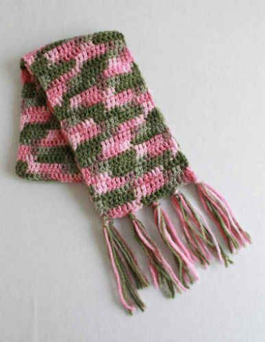 Free Crochet Pattern Super Easy Scarf Cupcakes Crafts And More
