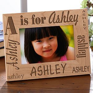 Alphabet Name Personalized Kids Picture Frames To Give Is To