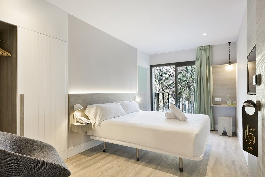 Rooms types at Hotel Niu Barcelona | Hotel Rooms | Barcelona