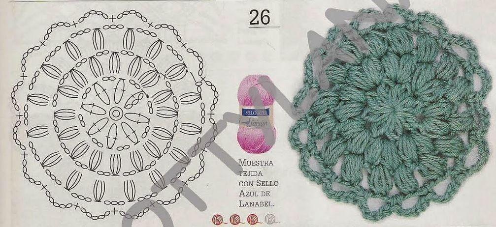 Pin de Sany González en crochet | Pinterest | Croché