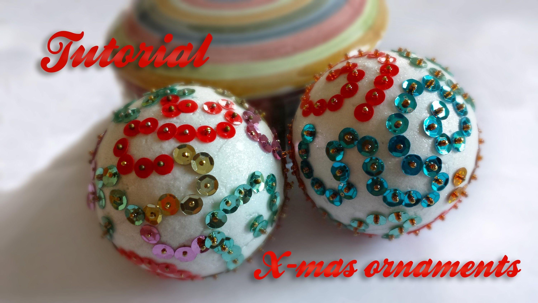Diy sequin christmas balls pallina con paillettes craft diy sequin christmas balls pallina con paillettes solutioingenieria Choice Image