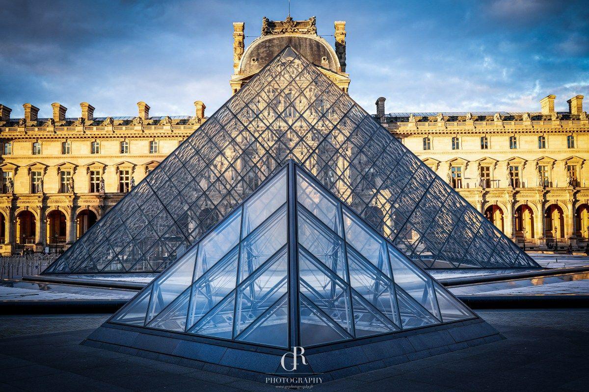 Louvre Museum Pyramids Paris Louvre Pyramid Louvre Louvre Museum