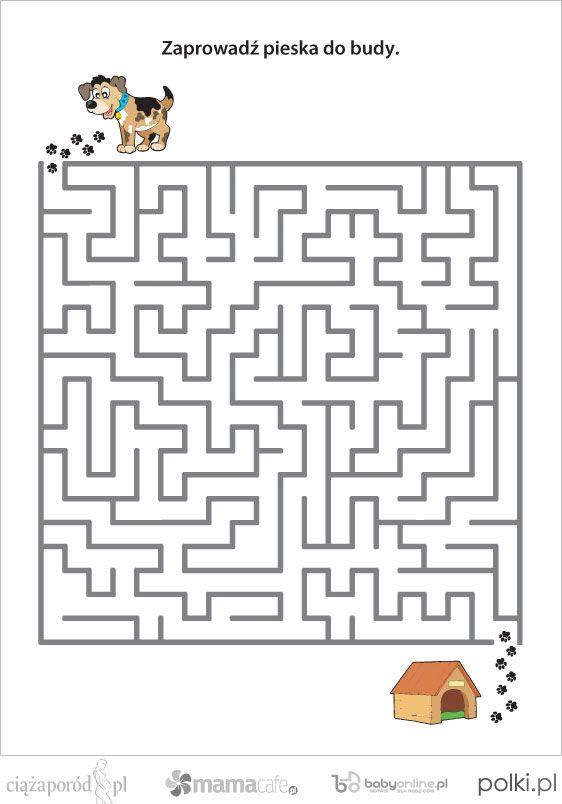 Labirynt Dla Dzieci Szukaj W Google Labirynty Labirynt
