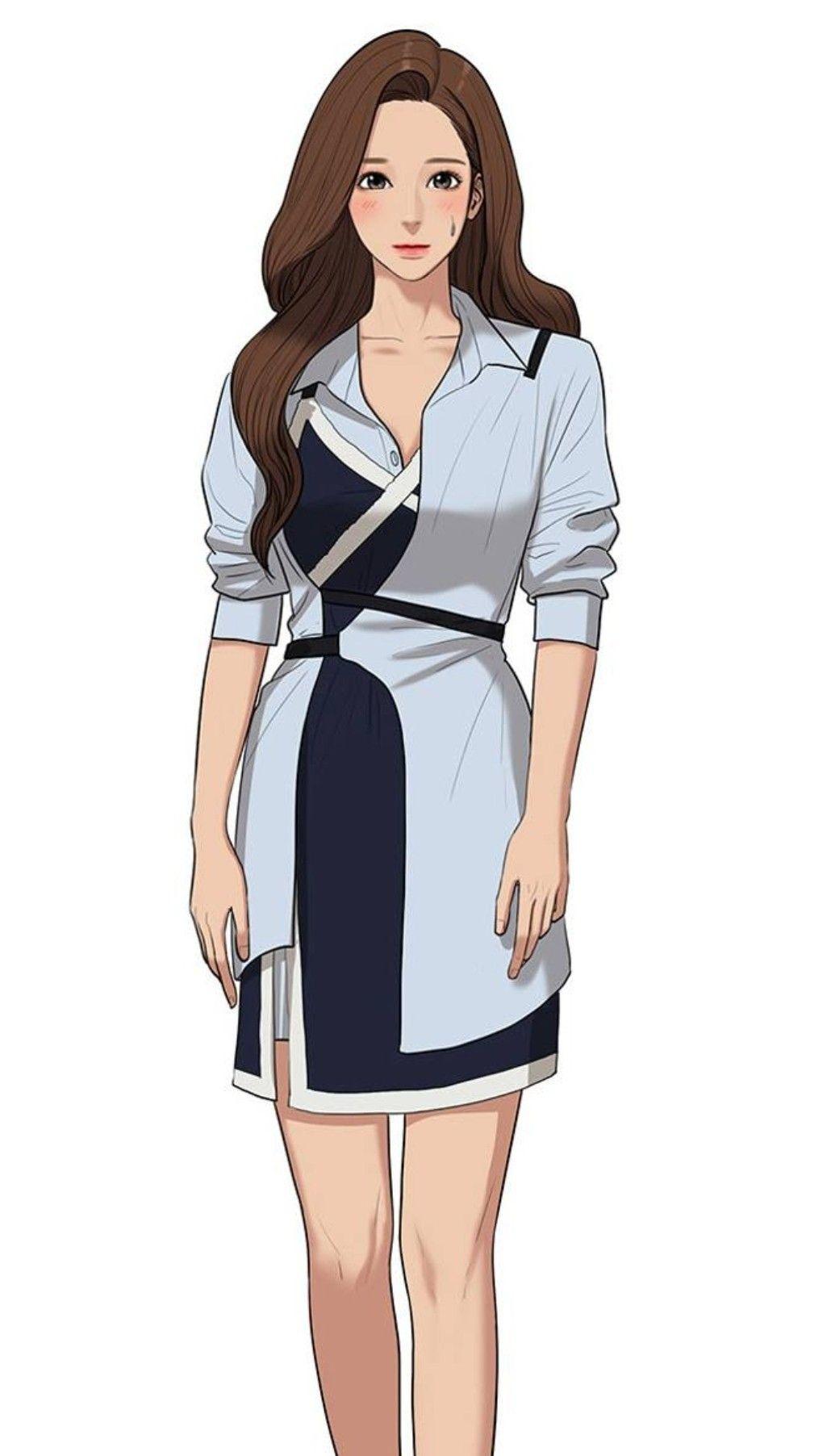 PREETTTYYY 😍😍 Model pakaian, Sketsa model pakaian, Anime