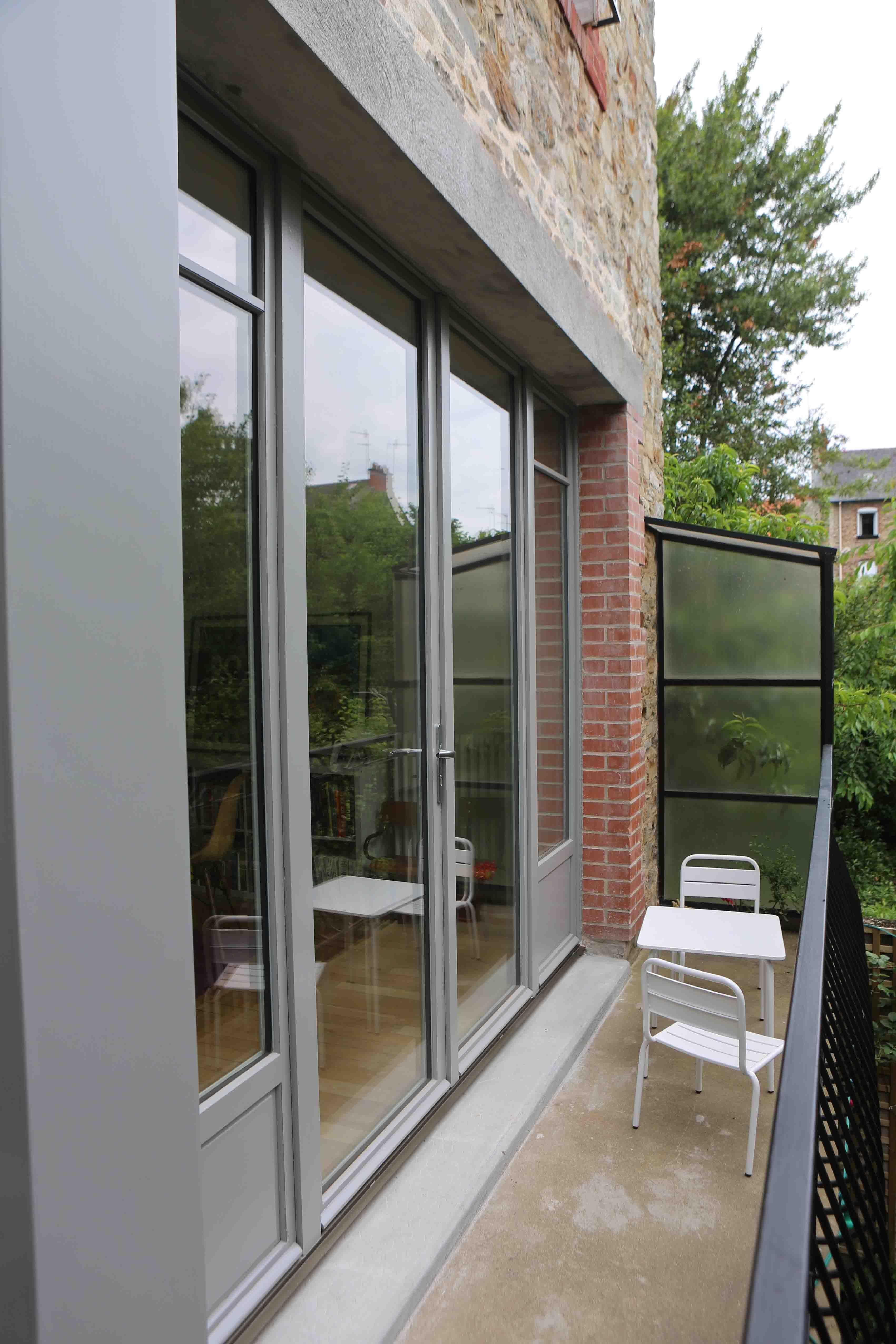 Maison Rennaise concernant transformation d'une maison rennaise   projets de l'agence