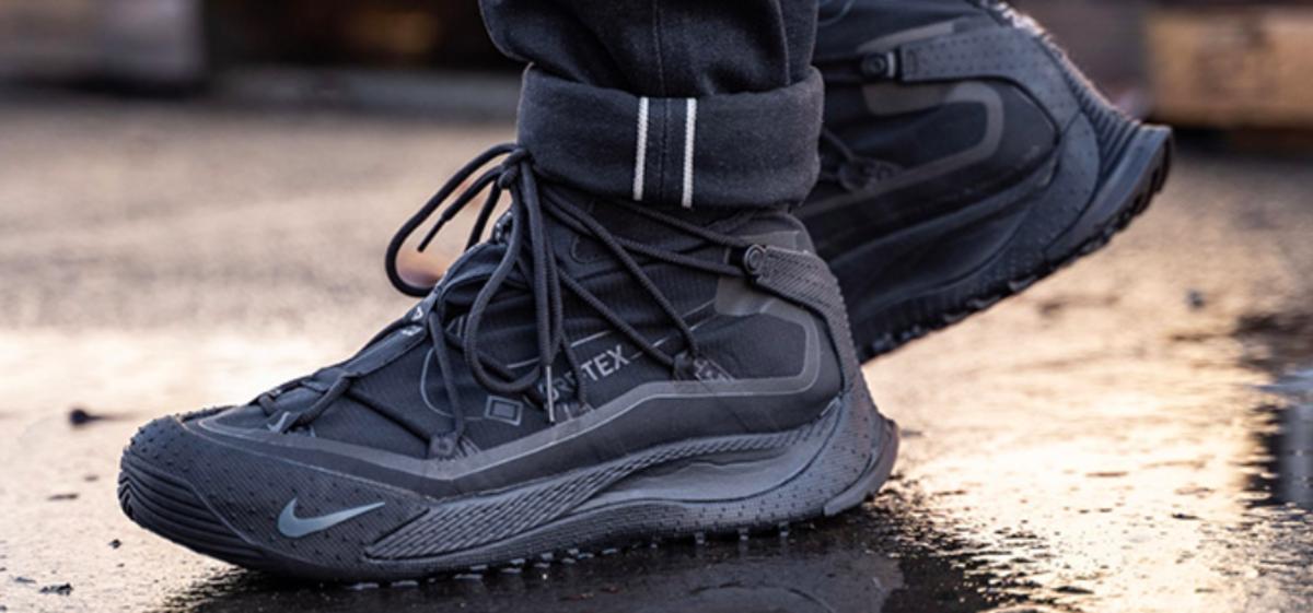 Nike Reveals New Winterized Streetwear Inspired Gore Tex Sneakerboot Nike Acg Sneakers Fashion Nike Acg Boots