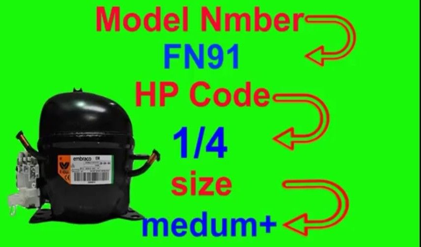 Refrigerator Hp Code Power Trace And Compressor Value Small Medium Large All National Compressor Fully4world Coding Air Conditioner Maintenance Power