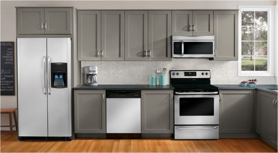 Frigidaire Kitchen Appliance Package Awesome Frigidaire Appliance Package Appliances I White Kitchen Appliances Modern Kitchen Design Laminate Kitchen Cabinets