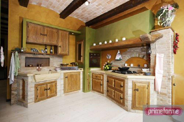 Cucina In Muratura Rustica Con Immagini Cucine Cucina In