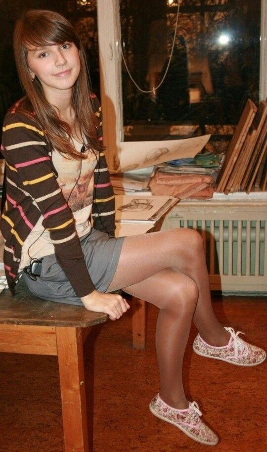 college pantyhose Students