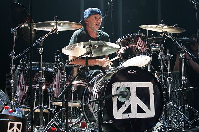 Chad Smith (Chickenfoot) | Kits in 2019 | Drums, Drum kits