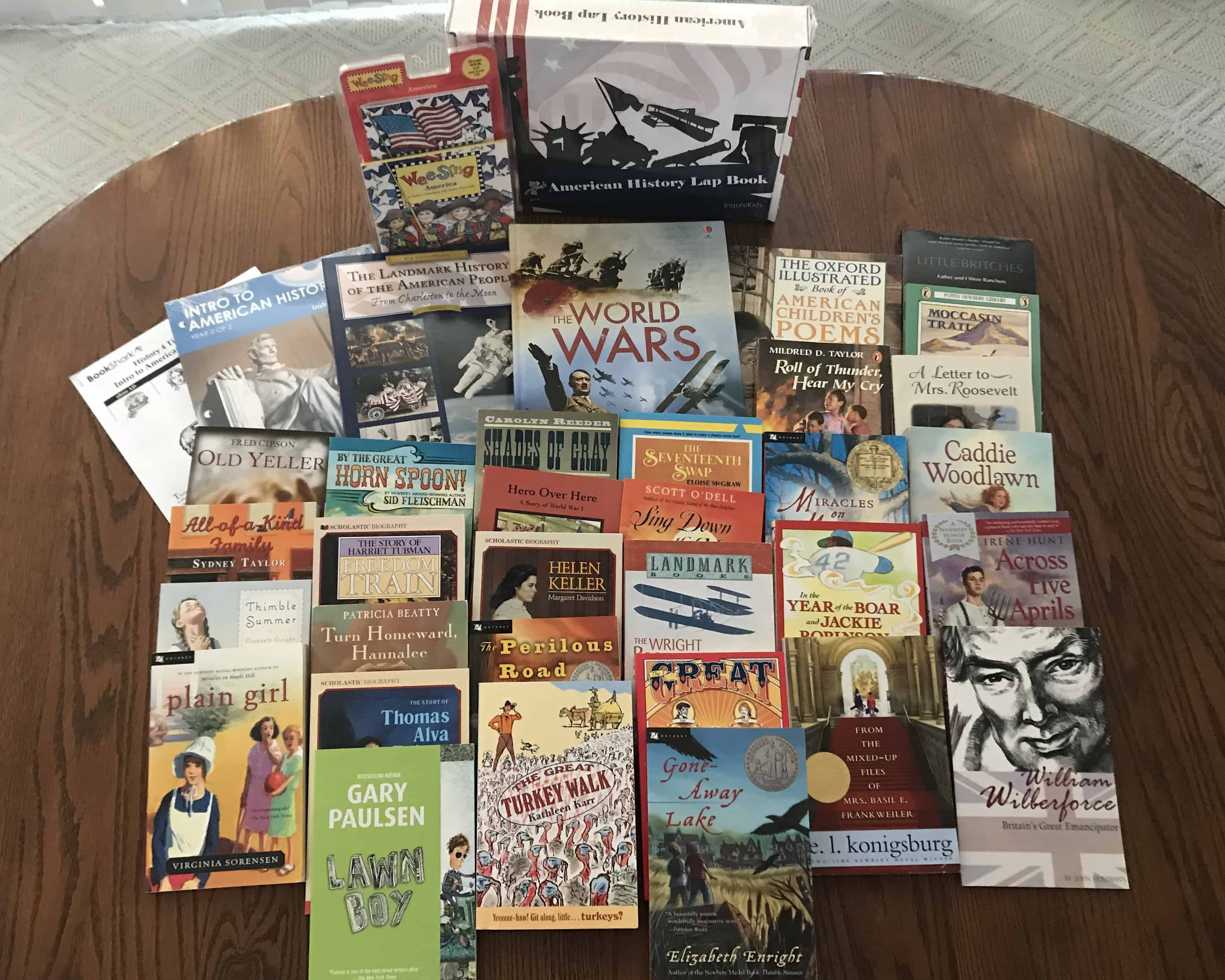 How To Organize Bookshark Materials In
