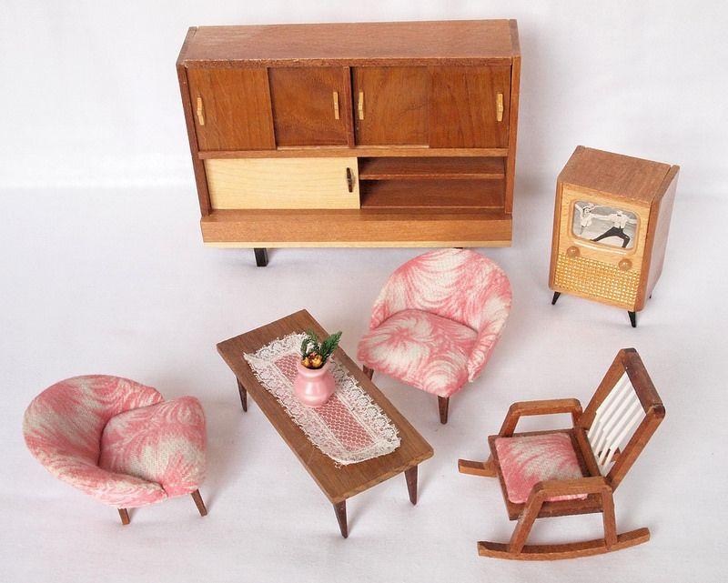 1960er Wichelmarke Wohnzimmer | Vintage furniture ...