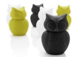 Owl money bank by Murunen