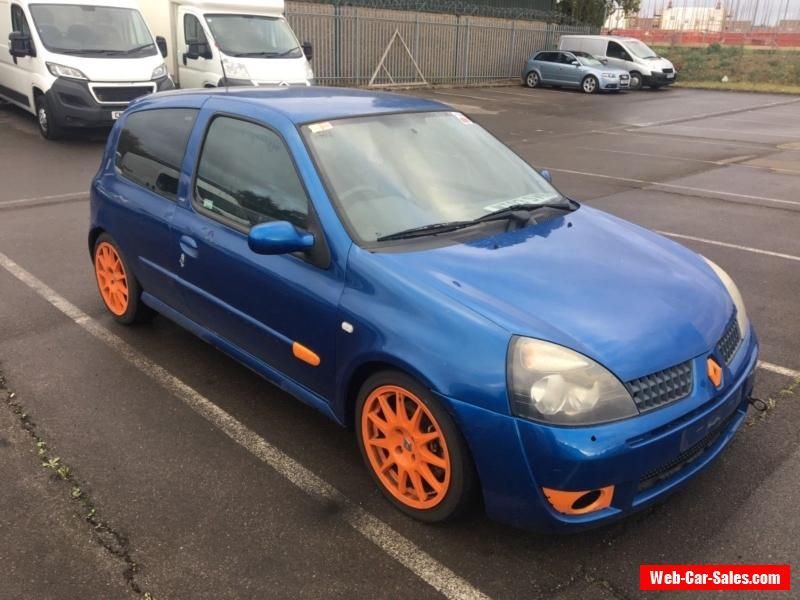 Renault Clio Sport 172 Track car not 182 Cup Trophy #renault #clio ...
