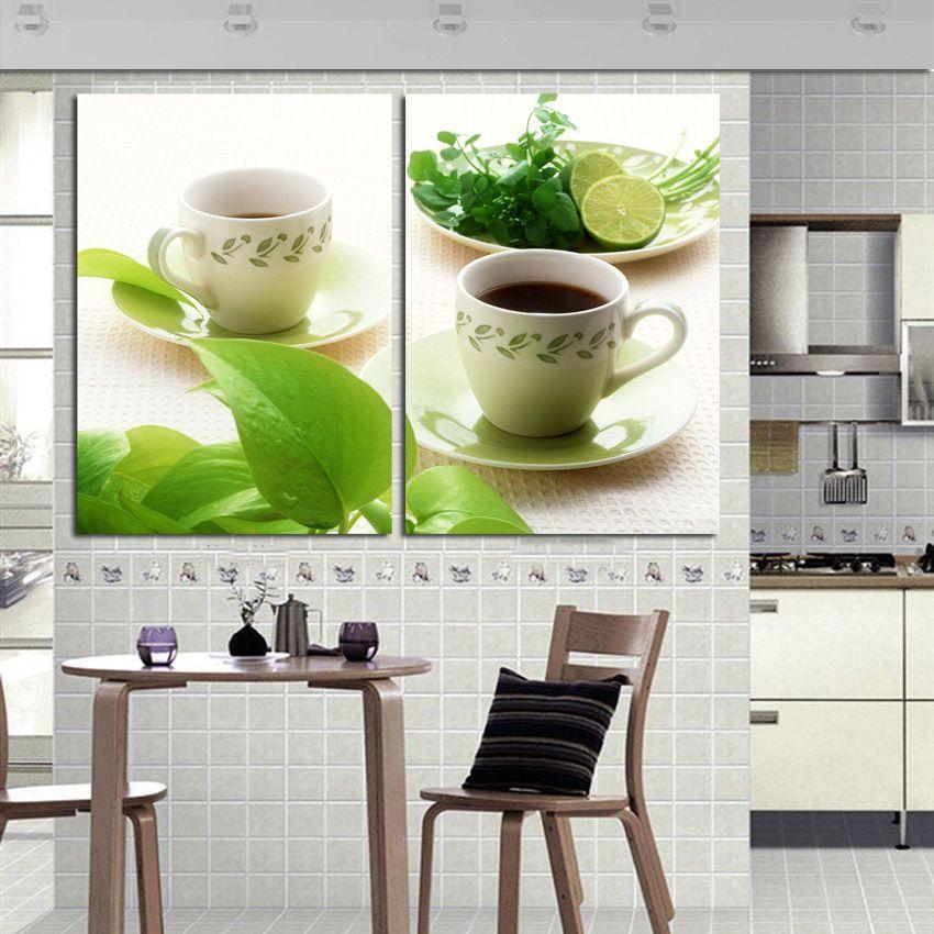 Aliexpress.com: Comprar Cocina decoración cuadros 3 lona de arte ...