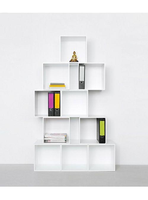 Mobili Cubi Componibili.Pin Su Studio E Librerie