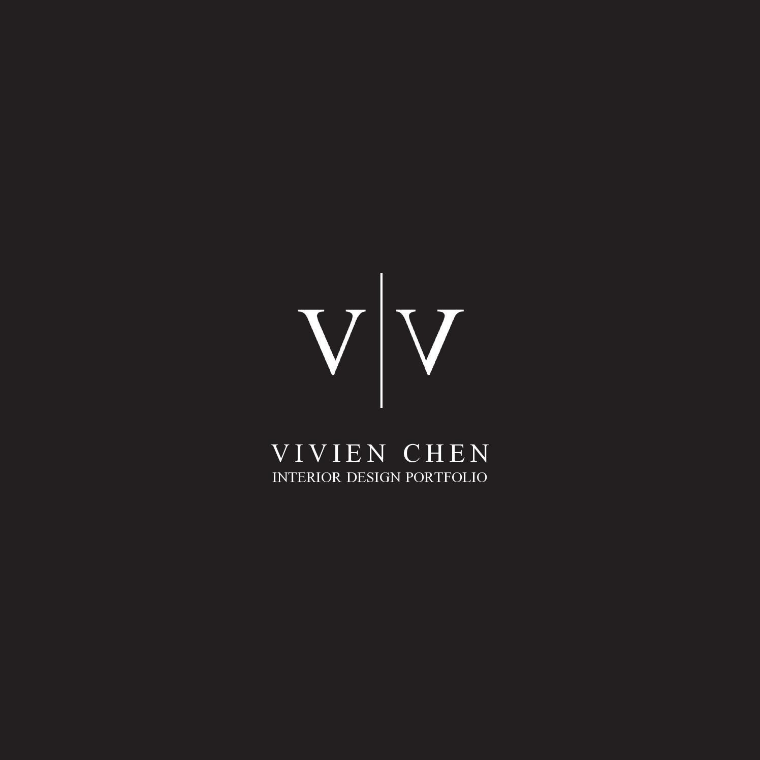 Vivien Chen Interior Design Portfolio Interior Design Portfolios