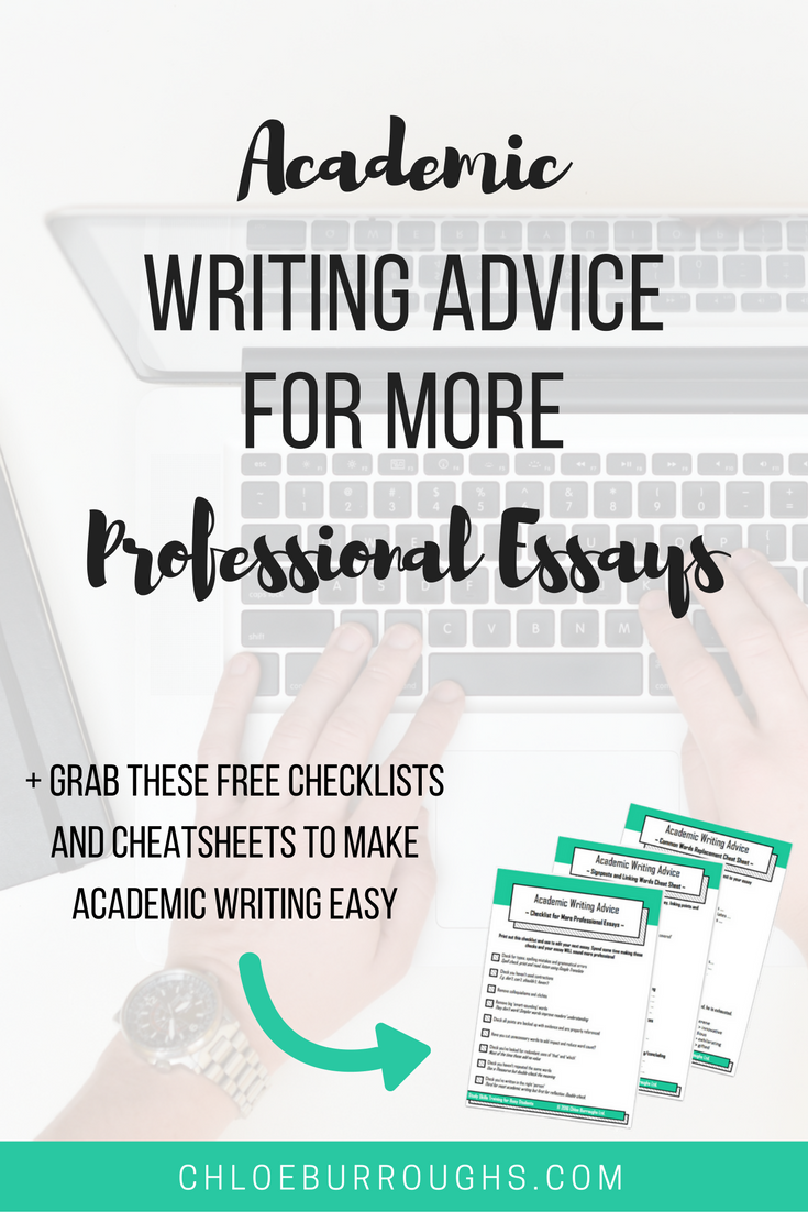 Academic Writing Advice For More Professional Essays  Academic