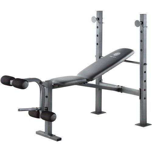 New Gold S Gym Workout Weight Bench Incline Leg Press Excerise Training Machine Ebay Weight Benches Golds Gym Gym