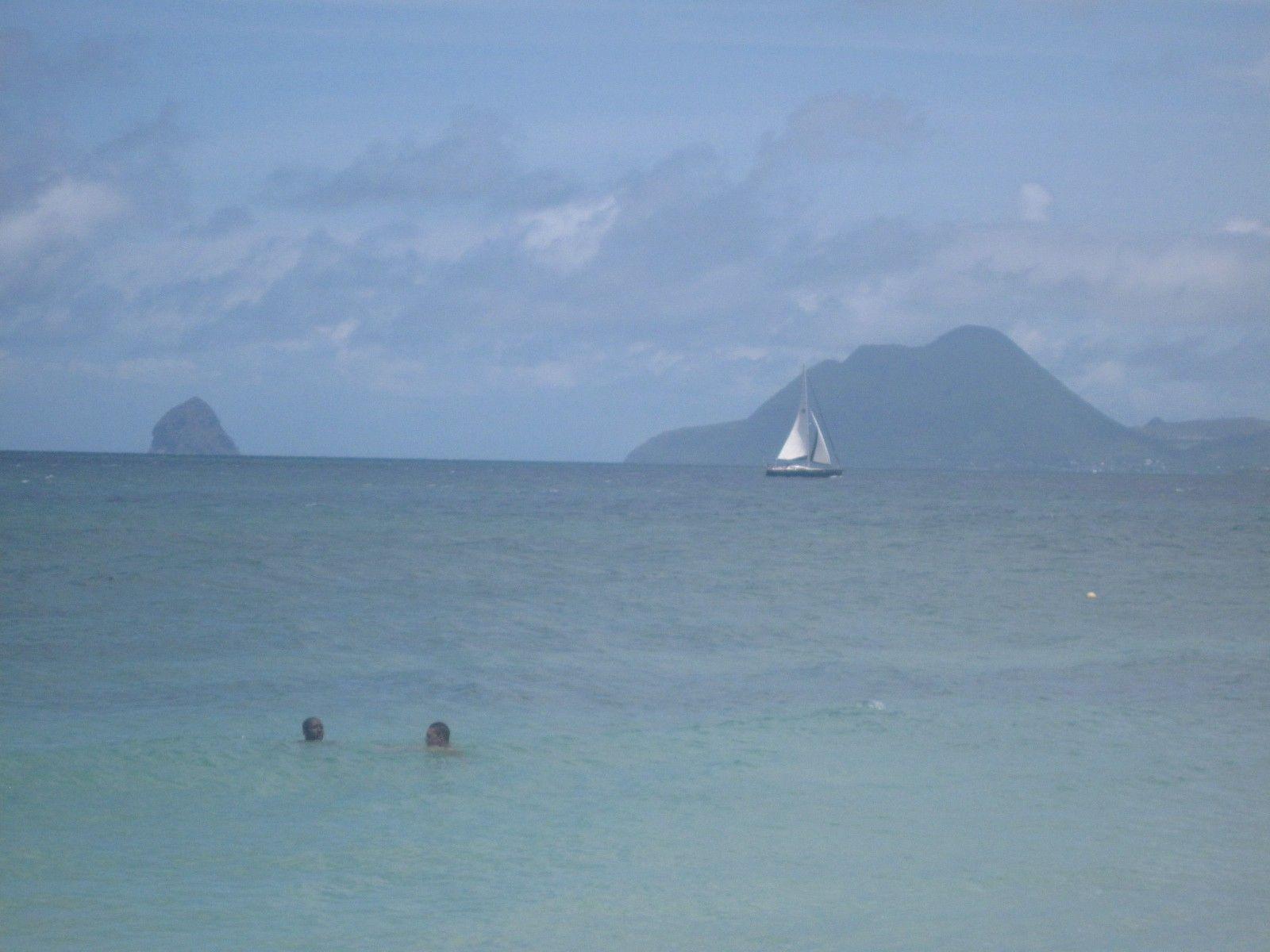 Vue depuis Anse Figuier -  Photos de vacances de Antilles Location #Martinique