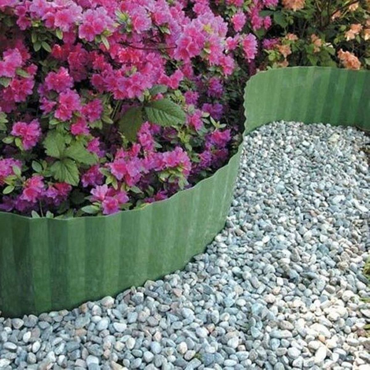 Bordure De Jardin Ondule En Plastique Hauteur 9cm Taille Taille Unique Bordure Jardin Bordure Pelouse Et Pelouse
