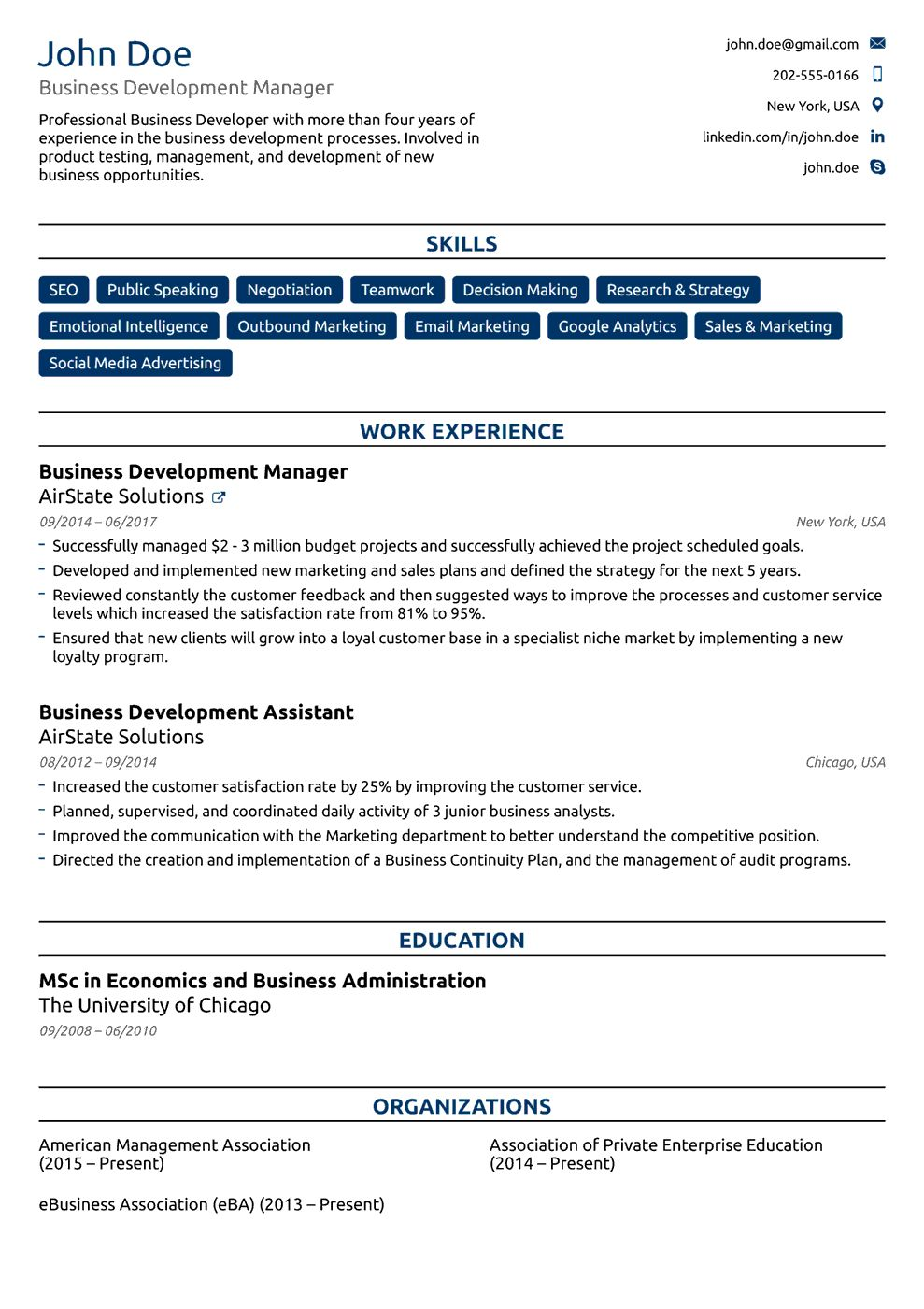 Free Resume Templates For 2020 [Download Now] for