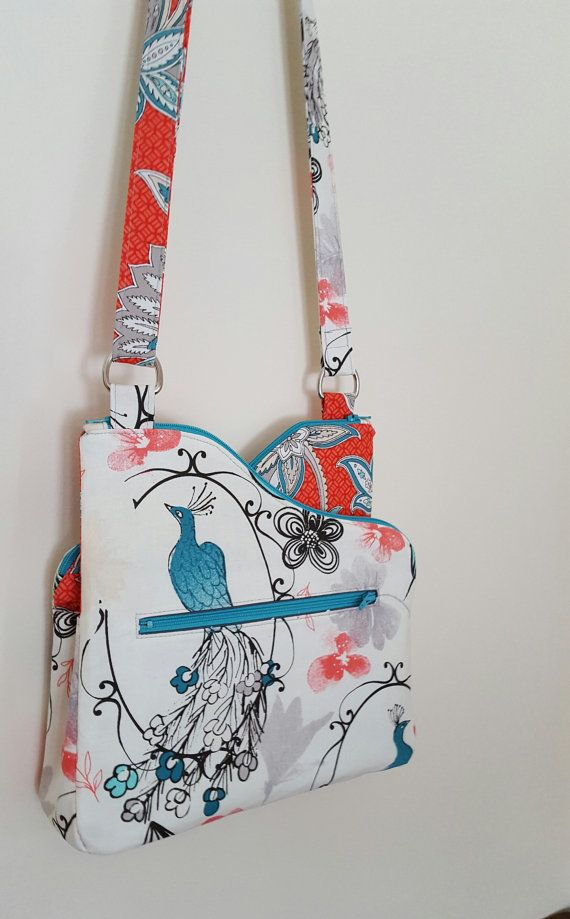 Zip-To-It: DIGITAL Sewing Pattern | Crossbody-taschen, Mittelstufe ...