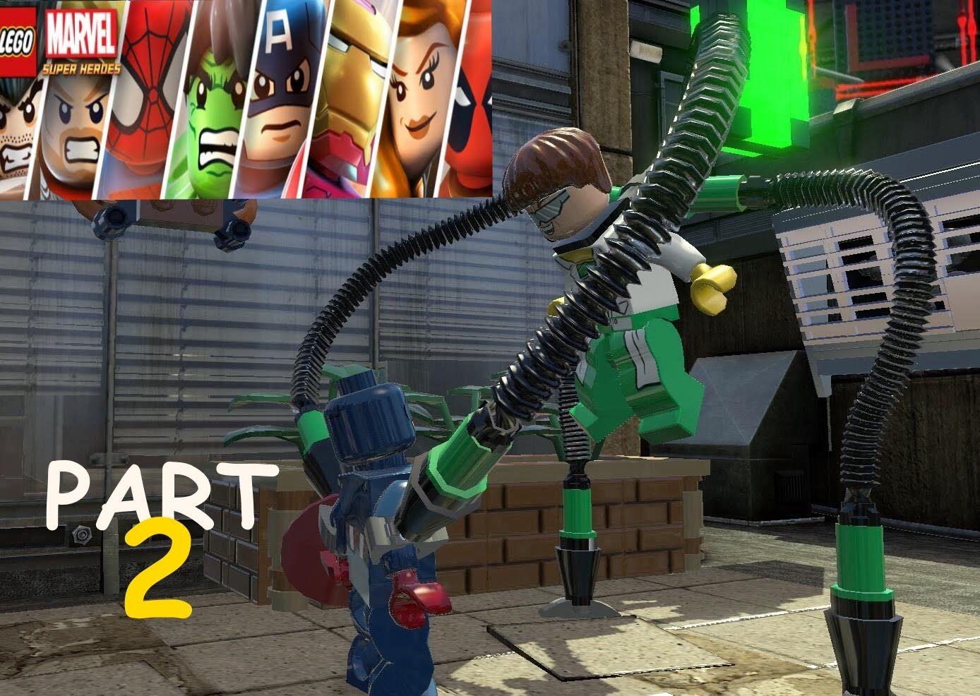 Lego Marvel Super Heroes Walkthrough Part 2 Lego Xbox Videogames
