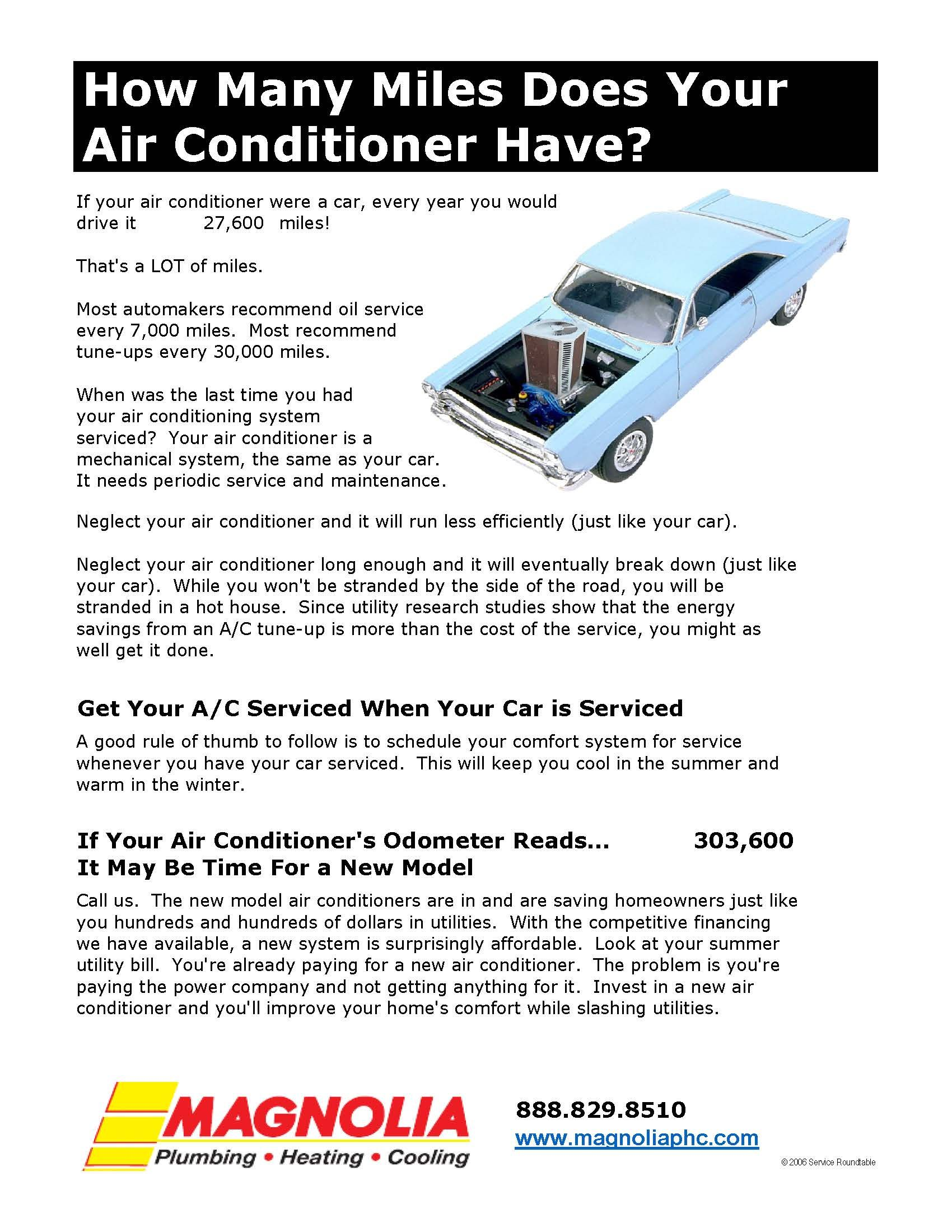How Many Miles Does Your Ac Have Maybe Its Time To Look At