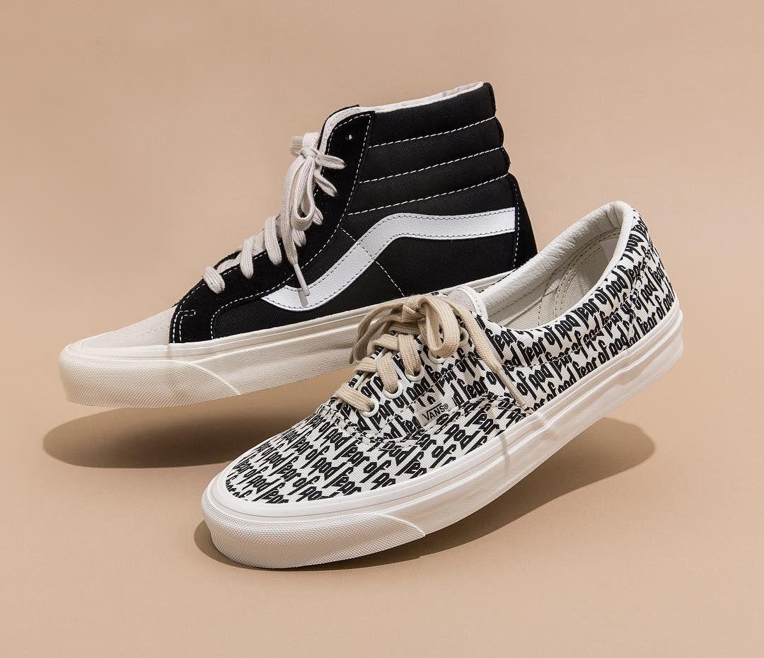 FOG x Vans | Hype shoes, Sneakers