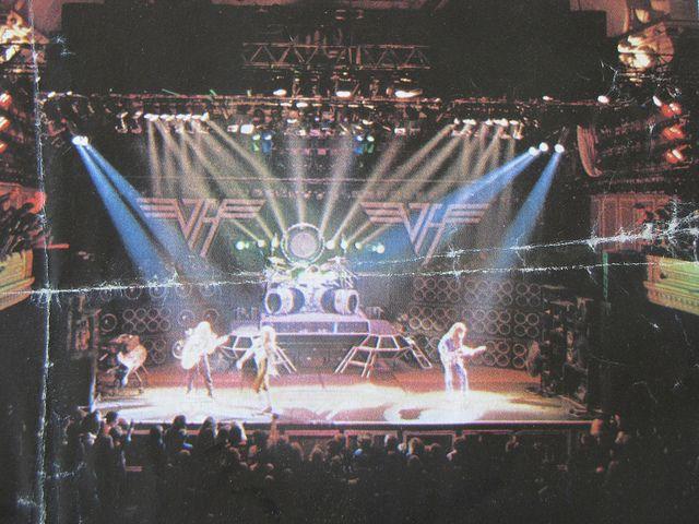 Rare Van Halen 1980 Photo by Taylor Player, via Flickr