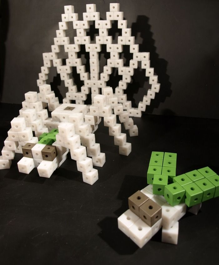 Minecraft inspired ...an innovative building toy that sparks imagination, energizes your brain, stimulates your senses and generates good Karma... a timeless toy for people of all ages!