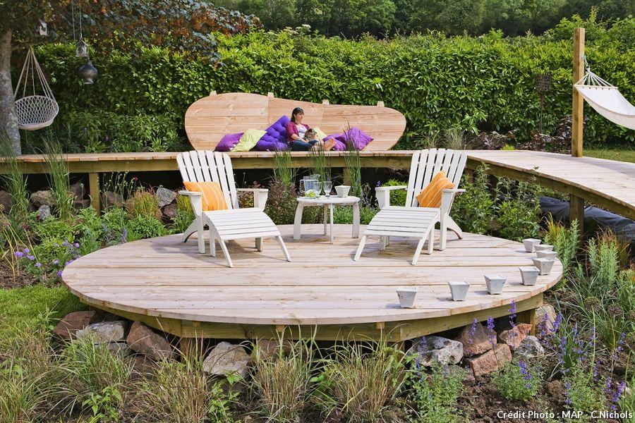 Créer une terrasse en bois  le pas à pas Natural swimming pools