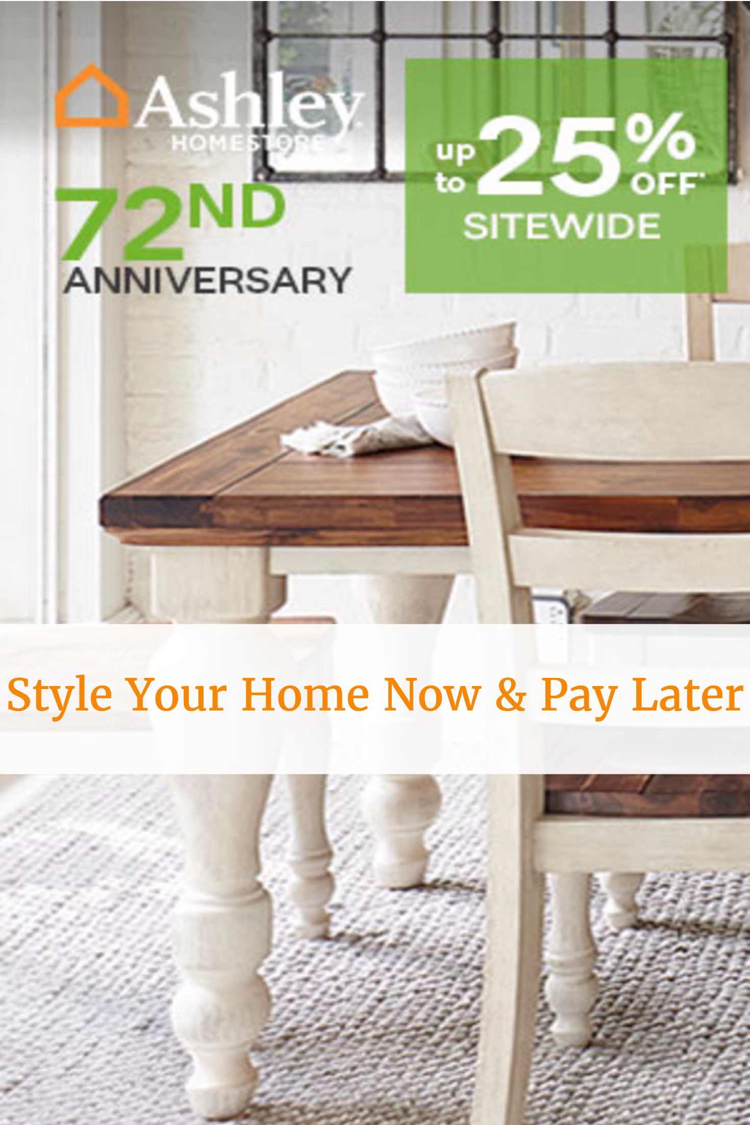 Ashley Furniture Payment : ashley, furniture, payment, Furniture?, Later, Ashley, Store's, Anniversary, Sale!, Furniture, Payment, Plans,, Sale,, Clearance