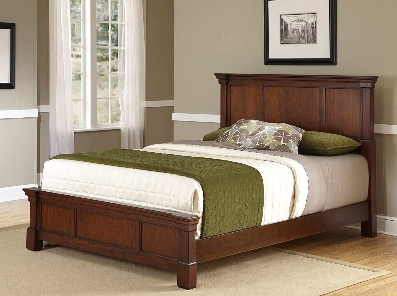 Cherry King Bed Cherry King Bed Home Styles Furniture
