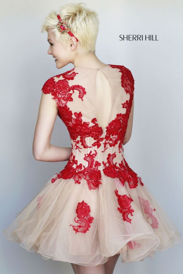 Detalle de la espalda de este modelo de la colección fiesta 2015 de ...