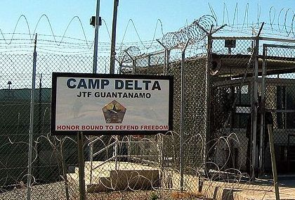 """Gitmo 'Not in America's Best Interest' -Obama http://www.thoughtfactory.org/archives/2278 (tf)—After skillfully dodging his 2008 campaign pledge to close the detention center at Guantanamo Bay, President Obama has revived his previous promise at a press conference, saying: """"I think it is critical for us to understand that Guantanamo is not necessary to keep America safe . . . it is expensive, it is inefficient, it hurts us in terms of our...-Obama (public domain image via wikimedia)"""